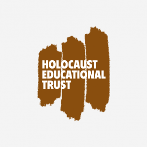 Judith signs Holocaust Educational Trust Book of Commitment