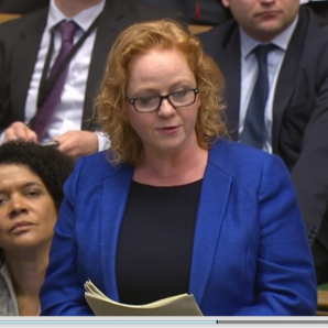 Judith presses the PM about the future of Bradford's regional rail links