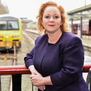Judith presses case for rail links in Queen's Speech debate