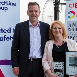 Judith wins national road safety award