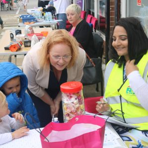 Judith opens Buttershaw fun day