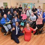 """It's all about equality"": Judith opens dining room at supported living scheme"