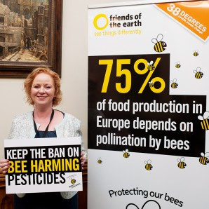 Judith says keep the ban on bee-harming pesticides