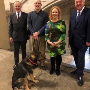 Welcome progress of law to protect police dogs