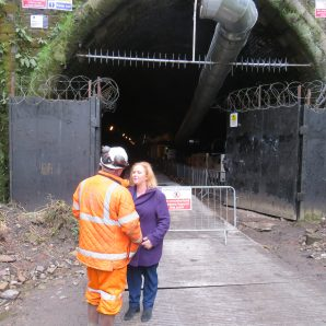 Judith intervenes to stop Queensbury Tunnel being sealed