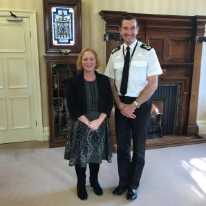 Meeting with the new West Yorkshire Police Chief
