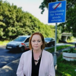 Judith opposes plans for North Bierley waterworks site